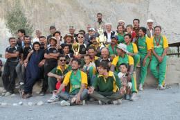 آل گوجال سیئر کرکٹ ٹورنامنٹ 2013 کے فاتح ٹیم پھسو کرکٹ ٹیم
