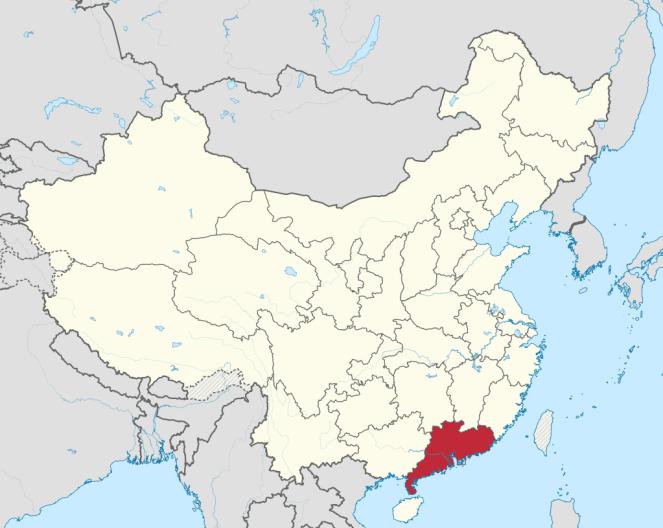 China_Map_Guangdong