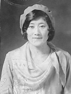 Photo of Aileen Cumyow, 1928