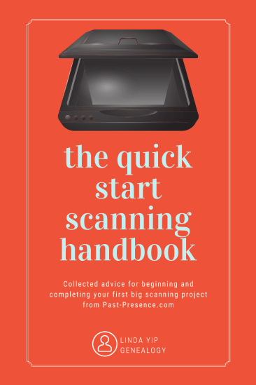 Cover, Quick start scanning handbook, Linda Yip