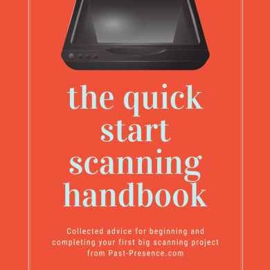 Cover, Quick start scanning handbook, Linda Yip