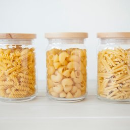 storing dried pasta