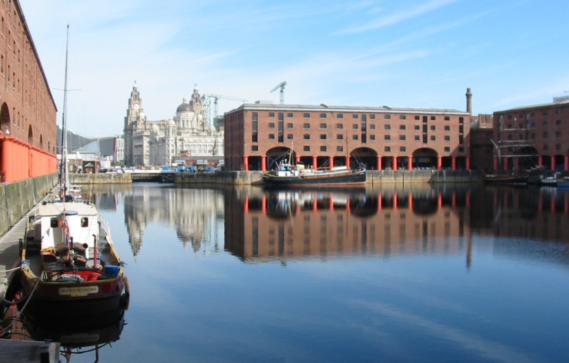 Albert Dock a Liverpool
