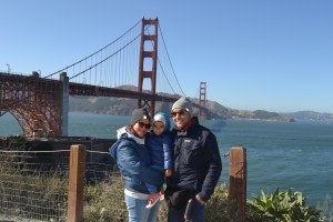 Alessia, William e Stefano di Una valigia di emozioni a San Francisco
