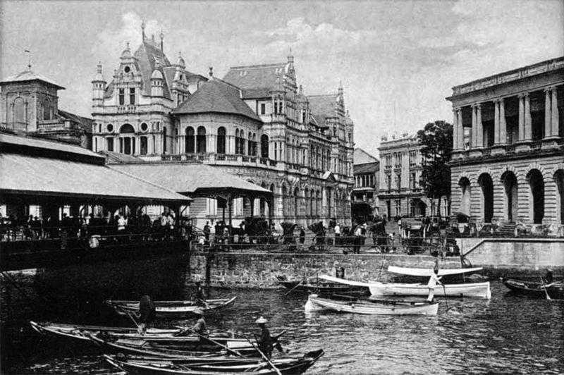 Foto storica di Singapore
