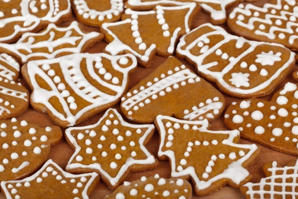 Gingerbread cookies, biscotti pan di zenzero