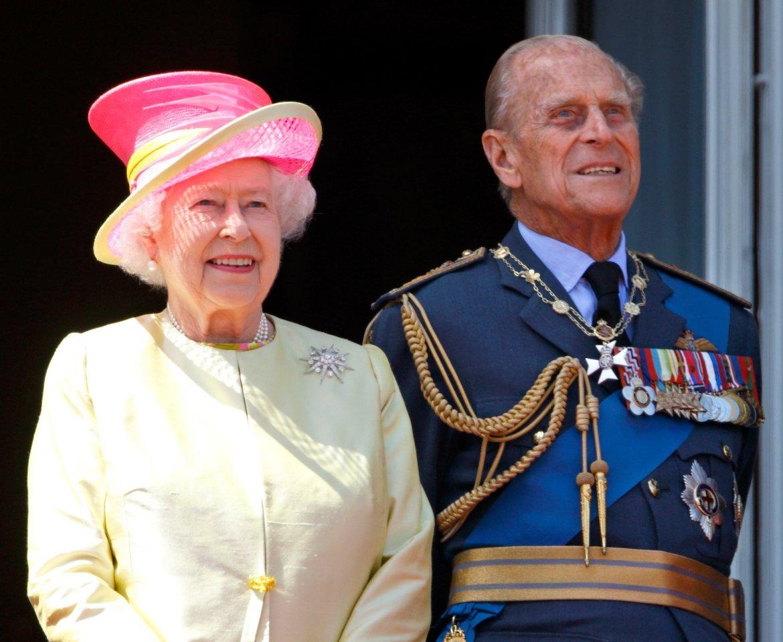 La regina Elisabetta con il marito, il principe Filippo duca di Edimburgo