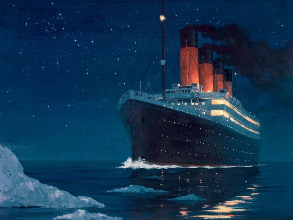 Immagine del Titanic