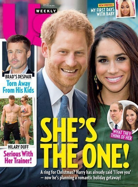 Meghan e Harry in copertina su US Weekly