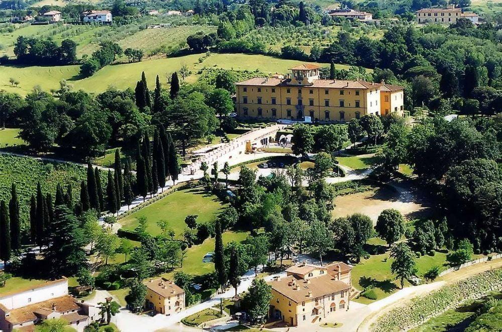 Villa Castelletti a Signa, in provincia di Firenze