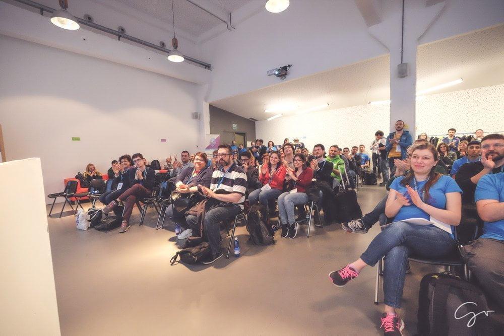 WordCamp Torino 2018, foto pagina FB WordCamp Torino