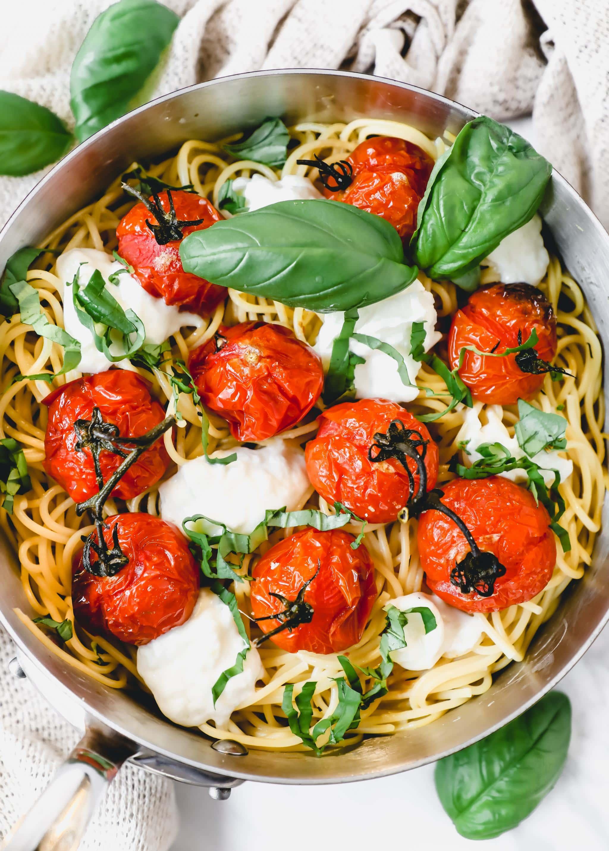 roasted tomato and burrata