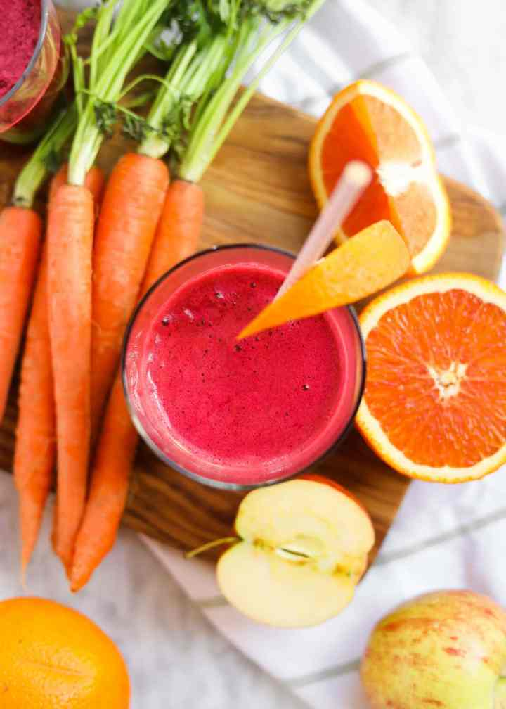 beet carrot immune boost juice