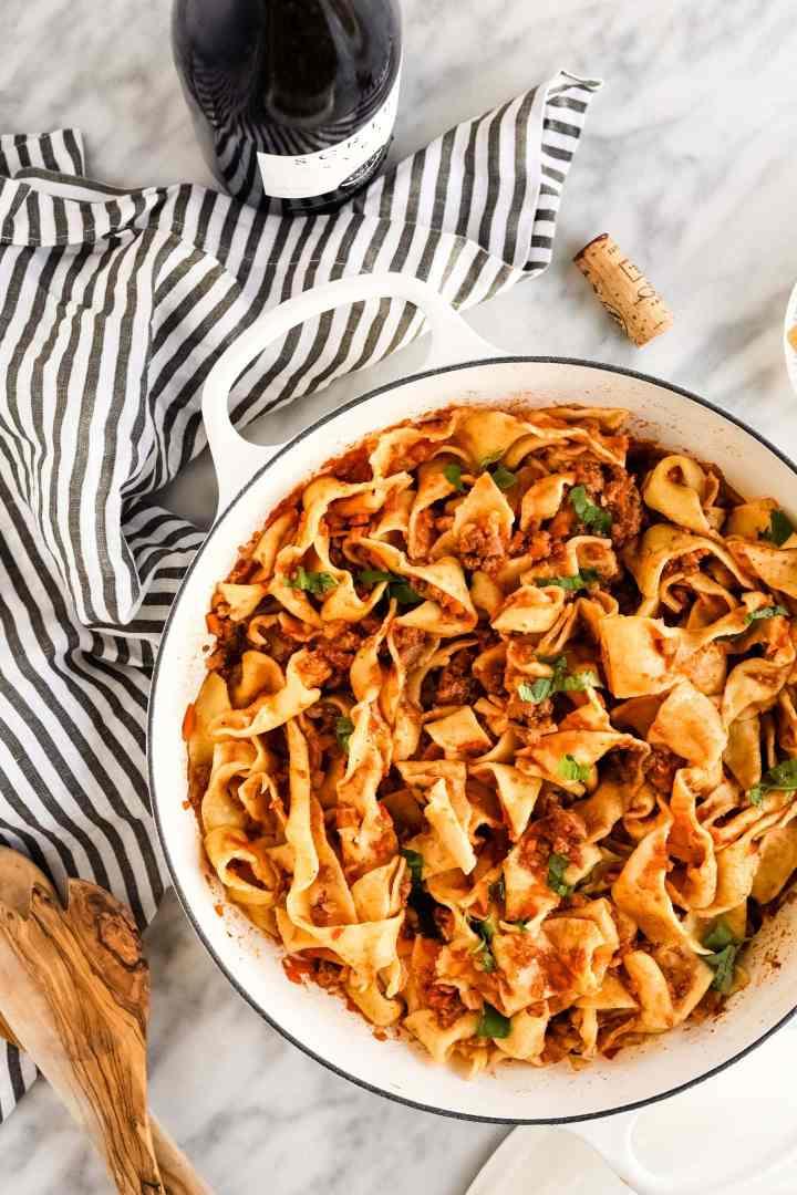 Traditional Bolognese - Pasta Ragazza