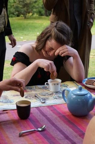 Antipodean Tea Duelling, Sarah