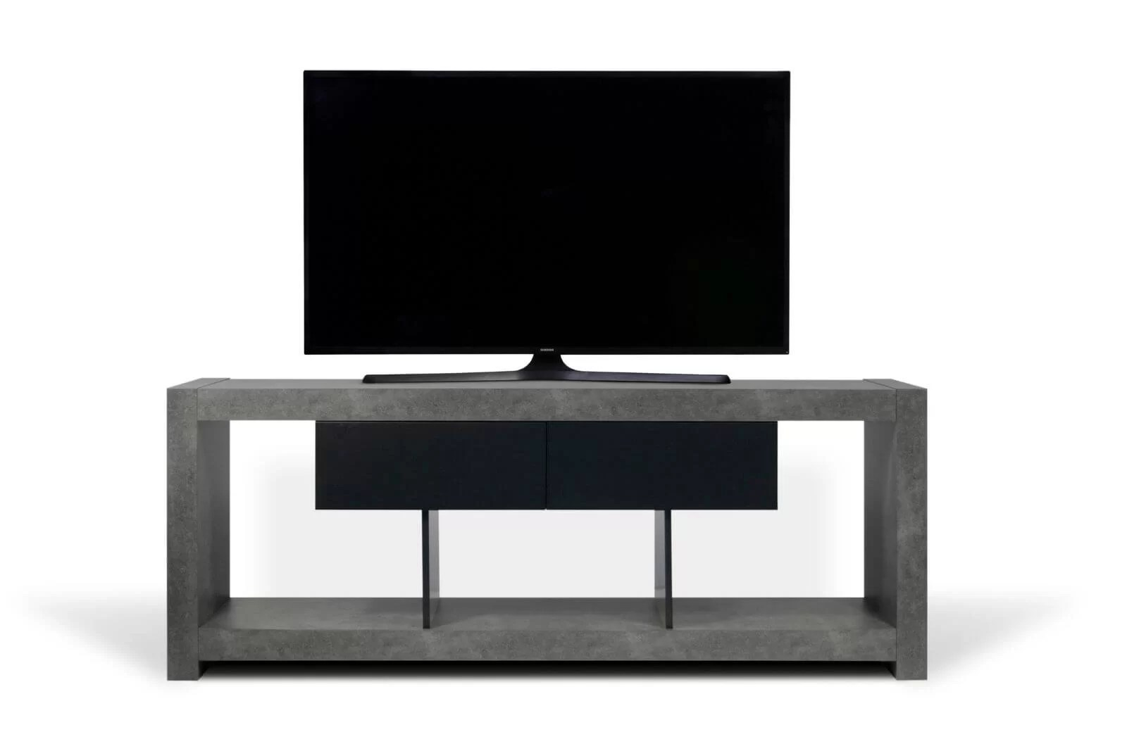meuble tv effet beton