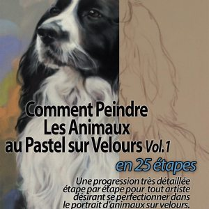 How to paint Pet in Pastels on Velour Paper (English)