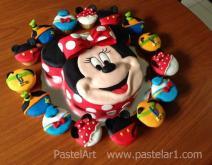 Mimi con cupcakes Disney