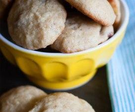 Pan-galletas de platano y nuez