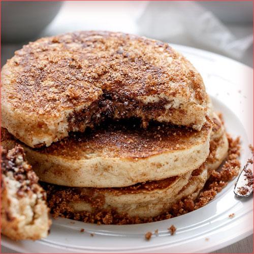 hotcakes-con-nutella