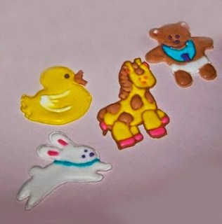 figuras infantiles de color flow