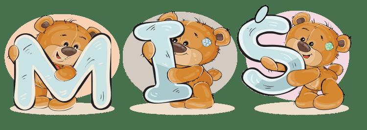 Dzień Pluszowego Misia - Pastelowe Kredki