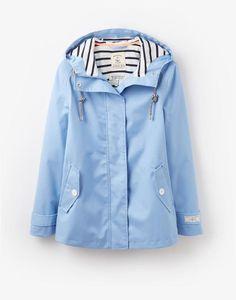 pastels and stripes_ light blue rain coat