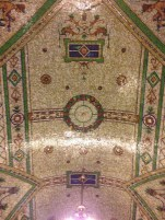 Tiled Ceiling at the Federal Building