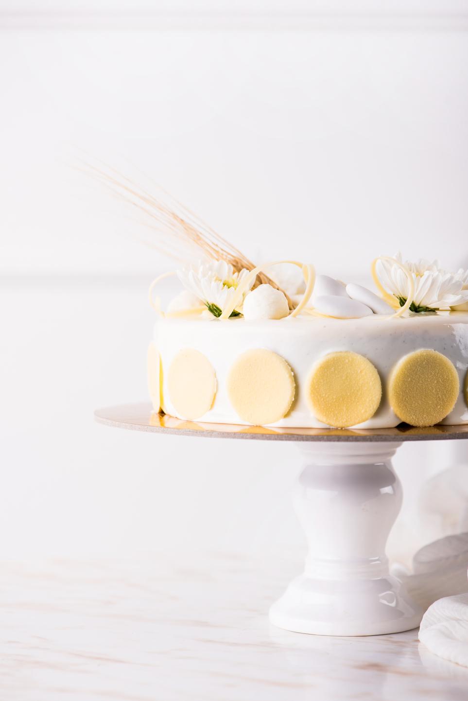 torta per prima comunione moderna