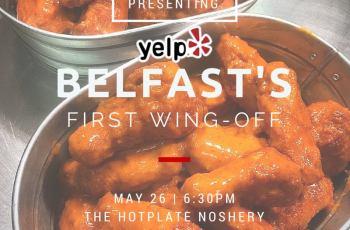 Yelp Belfast Wing Off