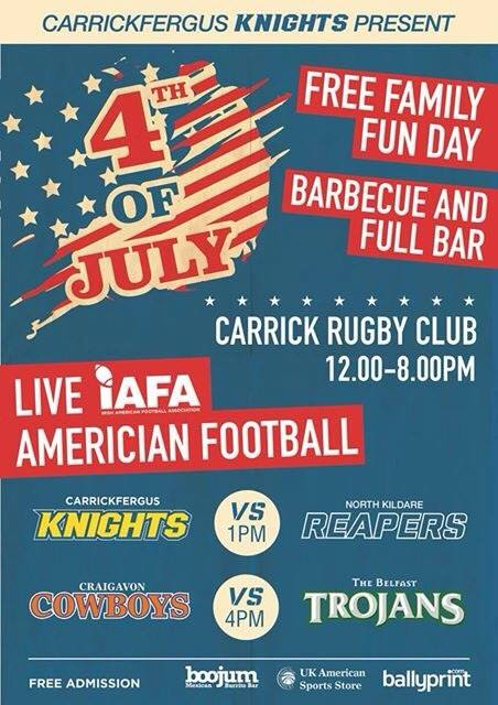 Carrickfergus Knights Fun Day 4th July