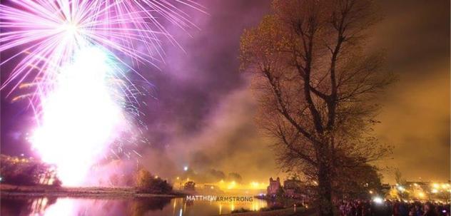 Enniskillen Halloween Fireworks Display