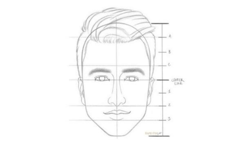 cara menggambar sketsa