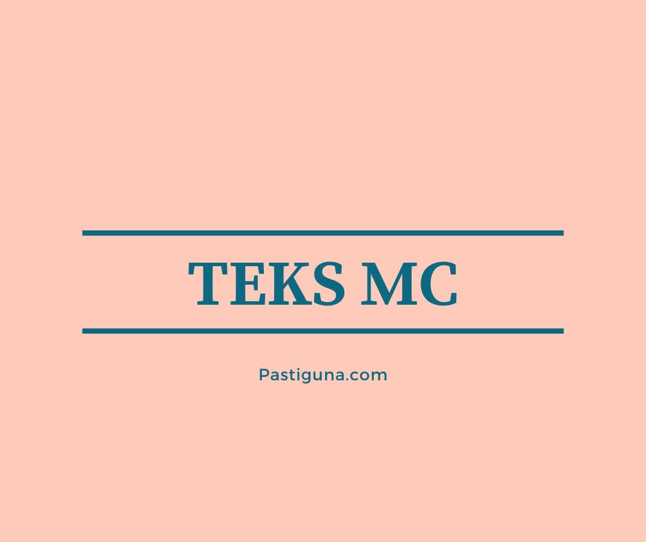 teks mc