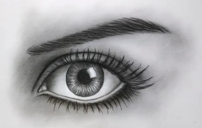Cara Menggambar Mata Menggunakan Teknik Dussel