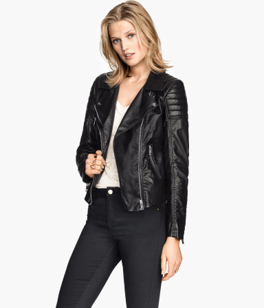 biker jacket hm
