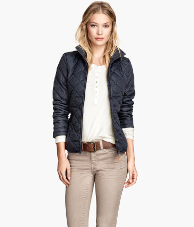 quilted jacket hm