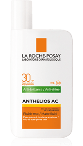 fluid matifiant SPF 30 anthelios