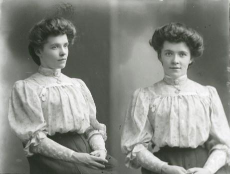 Miss Bastow, December 1907
