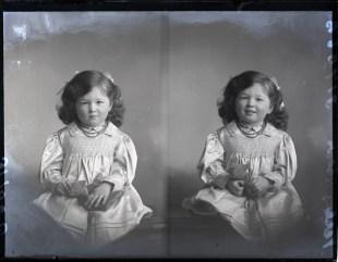 Little Girl Verling-Brown, 11 Dec 1911 (age 3½ )