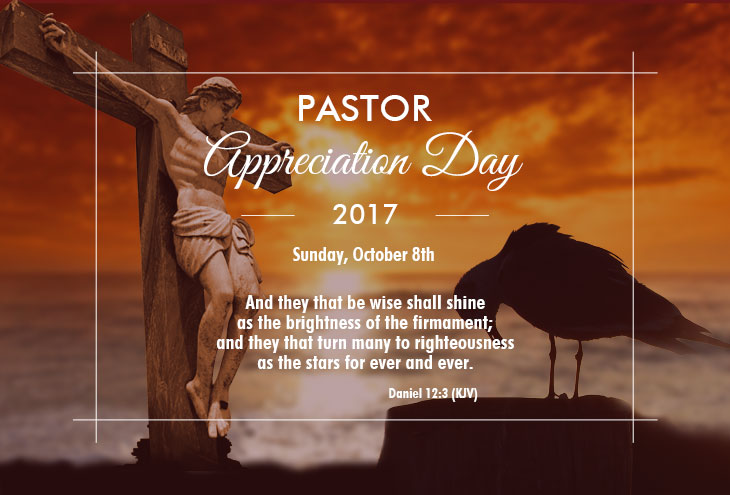 Pastor Appreciation Day/Month