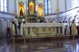 Dom José Alberto, Arcebispo Metropolitano de Montes Claros, celebrando a Missa dando início a 2ª caminhada pela Família Cristã - 2014.
