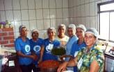 O time da cozinha, tudo temperado com o amor de Deus