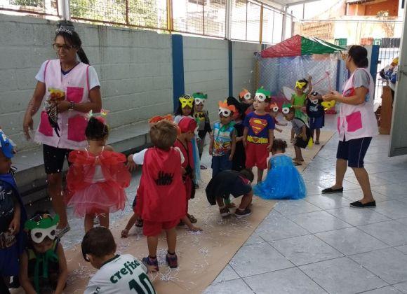 Carnaval na Creche.