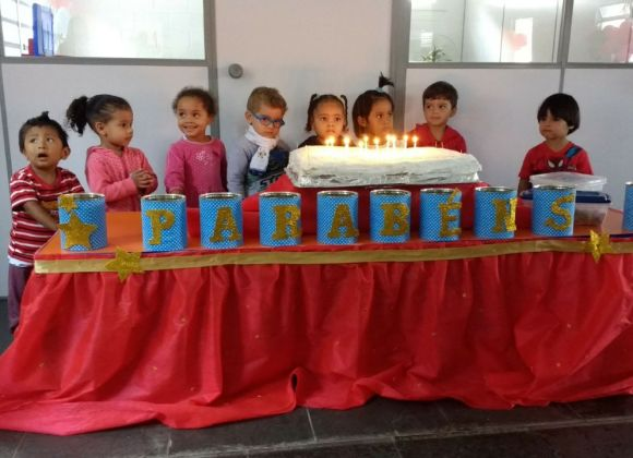 Aniversariantes de Março da Creche Maranata