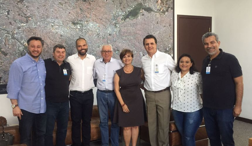 Maranata em visita à Prefeitura de São Paulo