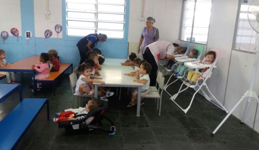 Inauguração do berçário da Creche Maranata