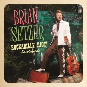 Brian Setzer: New Album Rockabilly Riot: All Original