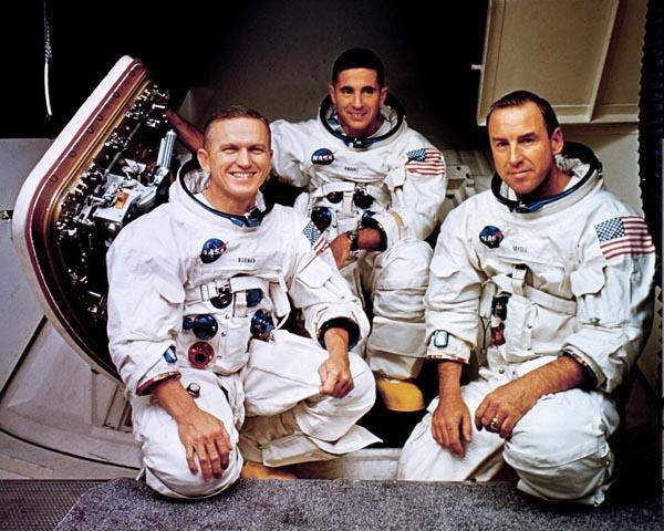 Apollo 8 Astronauts Read Creation From Genesis Christmas