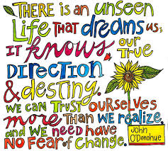 unseen life O'Donohue